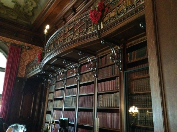 Biltmore's Two-Story Library