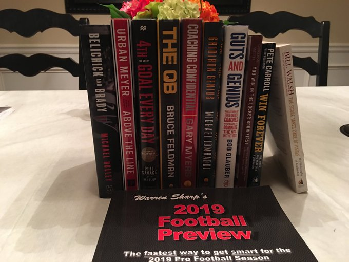 10 Books All Football Executives, Coaches, Scouts, Players